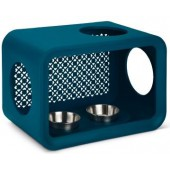 CAT CUBE DINNER DUNE - Persian Petrol - 49 cm