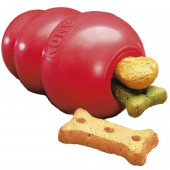 Kong Classic - Rood - in diverse maten