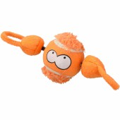 Coockoo Shoot I ball with string Oranje - 7,8cm - Met filmpje!