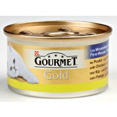 GOURMET - GOLD MOUSSE 85 GR KIP ADULT