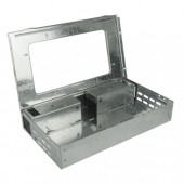 Muizenval Catch-A-Mouse w/clear lid Rechtmodel - Levende val