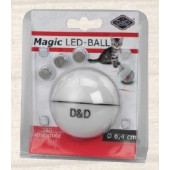 D&D Adventure Magic LED-Bal - Ø 6,4 cm - WIT