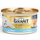 GOURMET - GOLD MOUSSE 85 GR TONIJN ADULT